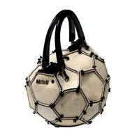 I have a used soccer ball purse. When I carry it, very good looking men talk to me. Image Ball, Recycle Jeans, Reuse Recycle, Good Looking Men, Soccer Ball, Clutch Bag, Me Too Shoes, Shoe Boots, Handbags