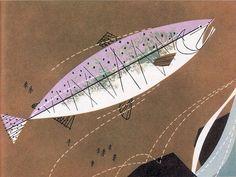 charley harper prints | Charley Harper , a master of Mid-Century Modernism was aCincinnati ...