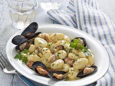 gnocchi-di-patate-con-cozze-e-zafferano preparazione