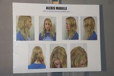backstage coiffure défilé alexis mabille : une fille dans l'air du temps