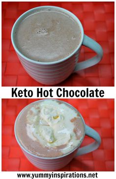 Keto Hot Chocolate - Easy Homemade Hot Chocolate Recipe + Video