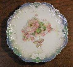 I just love fine china like this Bavarian plate.