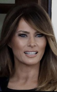 First Lady Melania Trump She makes us proud.