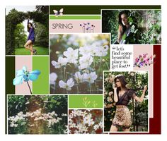 """""""let's find a magical place and enjoy the silence"""" by xxkrissixx ❤ liked on Polyvore featuring art"""