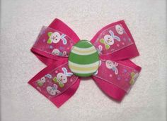Amazon:  Hot Pink Easter Bow - $5! TOO CUTE!