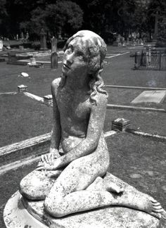 This statue is in Magnolia Cemetery in Charleston, SC.