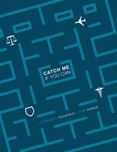 Catch Me If You Can, Minimal Movie Posters