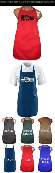 Flippin' Awesome Cooking Baking Outdoor Barbeque Grilling Apron #plans #technology #apron #kit #cooking #products #drone #camera #parts #outdoor #shopping #tech #gadgets #racing #fpv