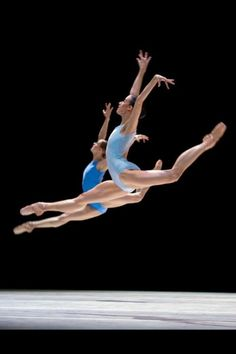 Beautiful leaps!
