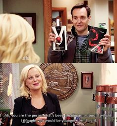 Parks and Rec meets Twilight. - Parks and Recreation