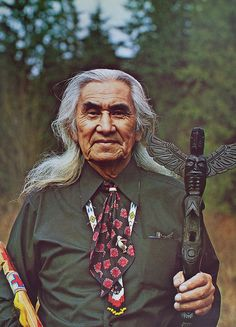 Chief Dan George (July 24, 1899-September 23, 1981) was a chief of the Tsleil-Waututh Nation, a Coast Salish band located on Burrard Inlet in North Vancouver, British Columbia, Canada. He was also an author, poet, and an Academy Award-nominated actor.