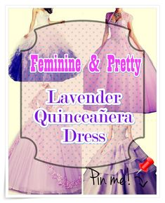 How to pick out Lavender Quinceanera dress for a Quinceanera party -- the original Latin American ritual that represents the passage of a girl from childhood to adulthood. Lavender Quinceanera Dresses, Quinceanera Party, Different Patterns, Stylists, Feminine, Party Planners, Pretty, Tips, Childhood