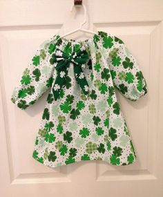 Worlds Shortest ST.Patricks Day Paraed Toddler Baby Girls Cotton Ruffle Short Sleeve Top Cute T-Shirt 2-6T