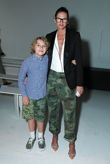 Jenna Lyons at OVADIA & SONS AT NEW YORK FASHION WEEK: MEN'S, an initiative of the CFDA