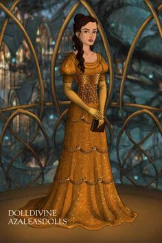 Belle ~ by darcee ~ created using the LotR Hobbit doll maker | DollDivine.com