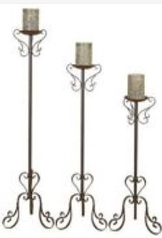 1062222dde1c6 8 Best Tall Floor Pillar Candle Holders Stands images
