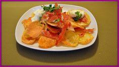 Zemiakové chipsy s bryndzou                                                    Ahoj!  Síce jednoduché jedlo, ale výborné a rýchle. Najlepši...