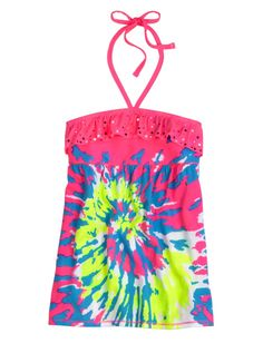 Justice Clothes for Girls Outlet | Neon Dip Dye Dress | Girls ...