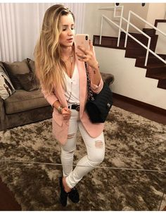 New Sneakers Fashion Work Casual Ideas Blazer Outfits, Basic Outfits, Warm Outfits, Spring Outfits, Casual Outfits, Cute Outfits, Blazer Dress, Dress Outfits, Casual Clothes