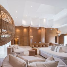 SALA Samui Chaweng Beach Resort : Phase 2 (I) Welcome | Wison Tungthunya & W Workspace Beach Resorts, Hotels And Resorts, Wall Cladding Designs, Lobby Lounge, Interior Architecture, Furniture Design, Design Inspiration, Phase 2, House