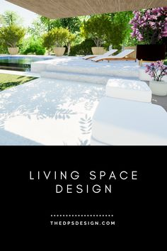 Patio and infinity pool design with grass area and open air living room, remodel design for a home in California. Designed by The DPS Design. Living Space Designs and 3D imaging for small and large spaces, for new homes and remodel projects. Garden design, Patio design, Deck design and Terrassengestaltung. Premium 3D Rendering Services. #patio #openair #indooroutdoor #deckdesign #3Drendering #Terrassengestaltung #Terrassengarten Garden Design Layout Modern, Contemporary Garden Design, Landscape Design Plans, Terrace Design, Small Garden Design, Small House Design, Patio Design, Modern Interior Design, Minimalist House Design
