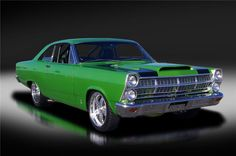 1967 FORD FAIRLANE 500 GT CUSTOM 2 DOOR HARDTOP