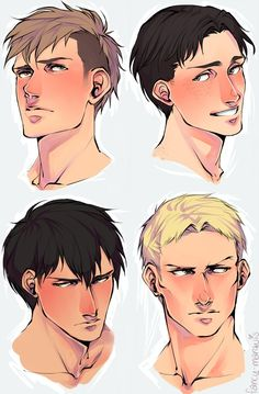 Bertholdt Hoover, Reiner Braun, Jean Kirstein, Marco Bodt I'll take one of each, thank you, goodbye.