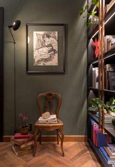 a3c5cd09f55 Home Office da designer de interiores Patrícia Hagobian na Casa Cor São  Paulo 2016.