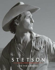 Famous Hollywood celebrities wearing Stetson cowboy hats and fedoras in real life and in movies or TV shows: Brad Pitt, Tom Brady, Prince William, Johnny Depp. Cowboy Up, Cowboy Hats, Western Hats, Cowboy Western, Alfred Hitchcock, Collateral Beauty, Cinema, Raining Men, Matthew Mcconaughey