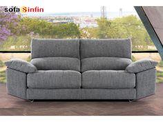 Sofá moderno de 3 y 2 plazas modelo Zeus fabricado por Divani Star en Sofassinfin.es Sofa Furniture, Sofa Chair, Modern Furniture, Couch, Sofa Set Designs, Sofa Design, Diy Sofa, Luxury Sofa, Fabric Sofa