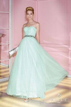 Alyce+Paris+Prom+Dress+6271+-+Sweetheart+neck+tulle+ball+gown+with+beaded+waist+detail+at+natural+waist+and+lace+up+back.