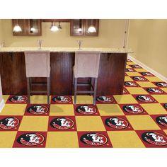 FSU Seminoles Carpet Tiles