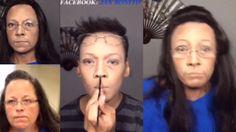 Watch make-up artist's incredible transition into Kim Davis