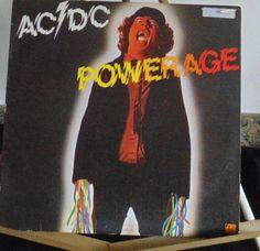 AC DC Lp Powerage Very Good #HardRock