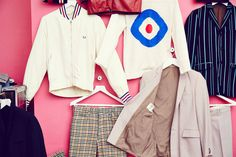 The Jam : About The Young Idea at Somerset House and Fred Perry Covent Garden. The first comprehensive exhibition dedicated to the iconic British band.  Known for their sharp outfits, here is a selection of original pieces worn by the band from their wardrobe archive.