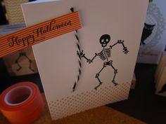happy halloween on washi tape