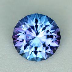 MJ2426 - 1.31ct Tanzanite - Tanzania 7.06 x 4.47 mm, clean, custom cut, standard heat , $275 shipping included