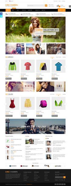 Best Responsive #WooCommrece #WordPress Theme #shop #store #design
