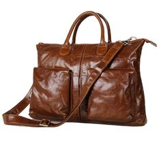 <h3>Stunning Men??s Bag for the Male Fashionistas</h3><br>Be the envy of other men the moment you walk down the streets with this bag in tow. The glossy brown color of this bag that is produced using first rate and genuine cow leather is irresistibly beautiful to the point that it looks even better on the lucky man who gets to own one. But more than its physical attributes, what makes this bag even more exciting is that this serves not one or two but four uses: it can be your office…