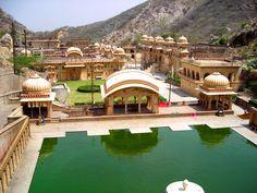 Galwar Bagh (Monkey Temple)