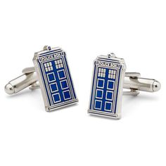 Doctor Who Cuff Link TARDIS