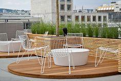 Breuninger Mitarbeitercasino mit Terrasse