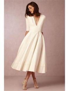 Robe habillée mi longue
