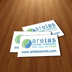 Aretas Sensor Networks Gloss Paper Stickers Size 100x50mm  #glosspaperstickers #paperstickers #stickers #glossystickers #glossstickers #glosspaper #stickerprinting #canadastickers #castickers #ontariostickers #stickerca