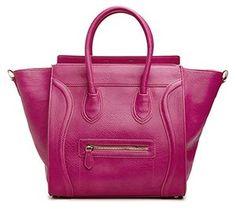 AmazonSmile: DAILYLOOK Women's, DAILYLOOK Large Structured Handbag, Raspberry $39.95
