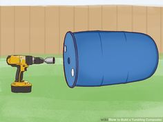 How to Build a Tumbling Composter. One of the keys to successful composting is aeration. Bacteria need oxygen to carry out the aerobic respiration that creates a rich compost. One way to aerate your compost is with a pitchfork or a. Diy Compost Tumbler, Tumbling Composter, Sierra Circular, Galvanized Steel Pipe, Barrel Roll, 55 Gallon Drum, Steel Drum, Garbage Can, Hydroponics