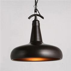 (EU Lager)Vintage Pendelleuchte Design aus Metall 1-Flammig