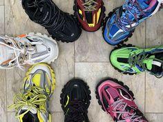Balenciaga Track Trainers (count pics) for Sale in Atlanta, GA - OfferUp Sneakers Fashion, Fashion Shoes, Fashion Goth, Hype Shoes, Men's Shoes, Balenciaga Sneakers, Aesthetic Shoes, Fresh Shoes, Sneaker Heels