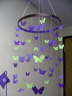 Clare's Contemplations: Butterfly Baby Shower