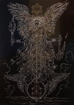 Angel's Hands by Joma Sipe . - The Occult Artists Collective Occult Art, Mystique, Visionary Art, Sacred Art, Sacred Geometry Art, Geometry Tattoo, Flower Of Life, Psychedelic Art, Tree Of Life